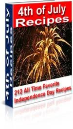 4th of July Recipes Cookbook Ebook