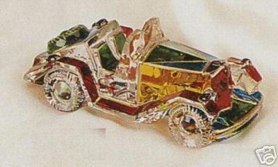 Murano Glass Keepsake Car Classic Roadster NEW