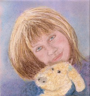 Me and Bear ACEO Print signed and numbered