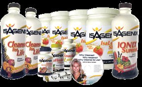 Isagenix 30 Day Cleanse (Tropical Paradise & Vanilla/Chocolate)