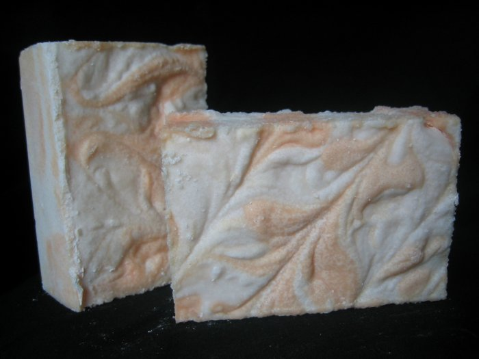 Tangerine Dreams Sea Salt Soap Handcrafted Old Fashioned Natural Handmade Soap 5.5 oz