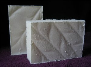 Tropical Coconut Sea Salt Soap Handcrafted Old Fashioned Natural Handmade Soap 5.5 oz