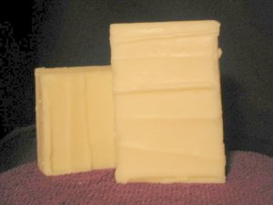 Sweet Almond Castile Handcrafted Old Fashioned Natural Handmade Soap 4 oz