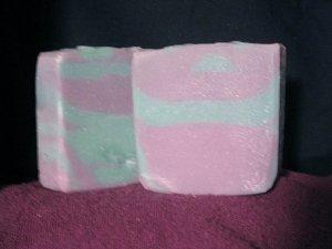 Big Hunka Violet Soap Handcrafted Old Fashioned Natural Handmade Soap 6 oz