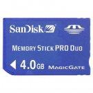 SanDisk 4GB Memory Stick PRO Duo ✦ MagicGate ✦ U.S. ✦