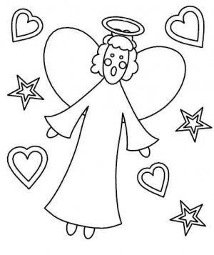 ANGELS Coloring eBOOK! 35 Printable Pages