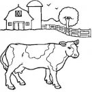 FARM ANIMALS Printable Coloring eBook on CD - 54 Pages Coloring Sheets Book