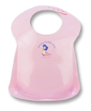 BEATRIX POTTER JEMIMA PUDDLE-DUCK CATCH-IT-ALL WIPE CLEAN BIB (PINK)