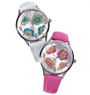 FLOWER POWER Pretty wristwatch