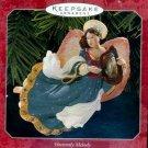 Hallmark Keepsake Christmas Ornament Heavenly Melody 1998 Angel / Angels FB ~*~v