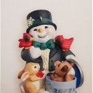 Hallmark Keepsake Christmas Ornament Snow Buddies Special 2007 10th Anniversary Edition  VGB ~*~