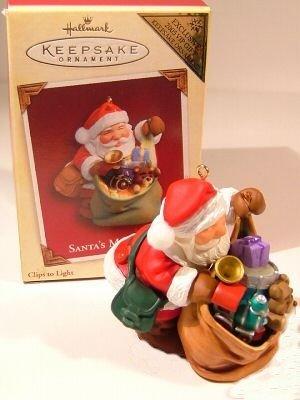 Hallmark Keepsake Christmas Ornament COLORWAY / REPAINT Santa's Magic Sack 2005 VIP Gift VGB ~*~v
