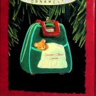 Hallmark Keepsake Christmas Ornament Bowling for ZZZ's 1993 Ball Bag with Mouse GB ~*~v