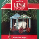 Hallmark Keepsake Christmas Ornament Polar Circus Wagon 1991 Bear Artists' Favorite FB ~*~v