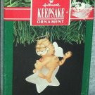 Hallmark Keepsake Christmas Ornament Garfield 1991 Cat Angel on Star FB ~*~