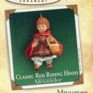 Hallmark MINIATURE Keepsake Christmas Ornament  Red Riding Hood 2004 Madame Alexander Doll VGB ~*~