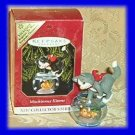 Hallmark Keepsake Christmas Ornament COLORWAY / REPAINT Mischievous Kittens 1999 Cat #1 VGB ~*~
