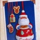 Hallmark Keepsake Christmas Ornament 2003 Sweet Tooth Treats #2 Santa Cookie Jar VGB ~*~v