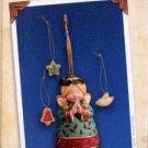 Hallmark Keepsake Christmas Ornament 2004 Sweet Tooth Treats #3 Angel Cookie Jar VGB ~*~v