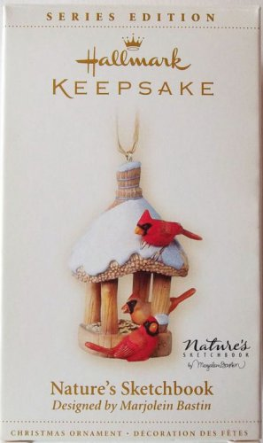Hallmark Keepsake Christmas Ornament 2006 Nature's Sketchbook Marjolein Bastin #4 VGB ~*~