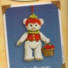 Hallmark Keepsake Christmas Ornament Gift Bearers 2002 Jointed Porcelain Bear #4 FB ~*~