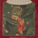 Hallmark Keepsake Christmas Ornament Mischievous Kittens 2000 Cat #2 GB ~*~