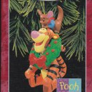 Hallmark Keepsake Christmas Ornament Bouncy Baby-Sitter 1998 Disney Tigger & Roo Winnie Pooh  GB ~*~