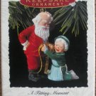 Hallmark Keepsake Christmas Ornament 1993 Mr & Mrs Claus A Fitting Momement GB ~*~