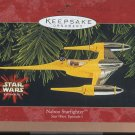 Hallmark Keepsake Christmas Ornament Star Wars 1999 Naboo Starfighter GB ~*~