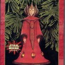 Hallmark Keepsake Christmas Ornament Star Wars Queen Amidala Episode 1 GB ~*~v