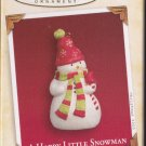 Hallmark Keepsake Christmas Ornament 2005 Happy Little Snowman w/Cardinal VGB ~*~v