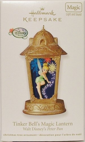 Hallmark Keepsake Christmas Ornament Tinker Bell's Magic Lantern Disney Peter Pan Fairy GB ~*~
