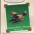 Hallmark MINIATURE Keepsake Christmas Ornament 2003 Curtiss R3C-2 Racer #3 GB ~*~