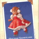 Hallmark Keepsake Christmas Ornament Holiday Snowflake Skater Madame Alexander 2003 #8 GB ~*~