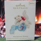 Hallmark Keepsake Christmas Ornament Mischievous Kittens 2012 Beta Fish Bowl #14 GB ~*~v