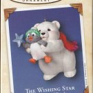 Hallmark Keepsake Christmas Ornament Snowball & Tuxedo 2002 #2 The Wishing Star Bear Penguin GB ~*~