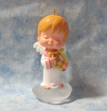 Hallmark Keepsake Christmas Ornament Mary's Angels 2001 Chrysantha #14 Angel NO Box ~*~v
