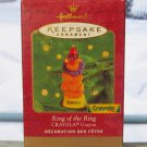 Hallmark Keepsake Christmas Ornament Crayola Crayon 2000 King of Ring Circus Lion GB ~*~v