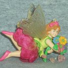 Carlton Heirloom Christmas Ornament Sugarplum Sweethearts 2002 Ballerina Fairy Flower Bouquet NB ~*~