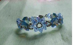 Blue Flower Crystal