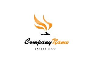 Gold and black classy logo #1005