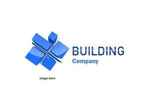 Blue blocks logo #1023