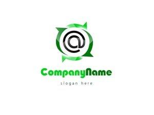 Green and black web logo #1033