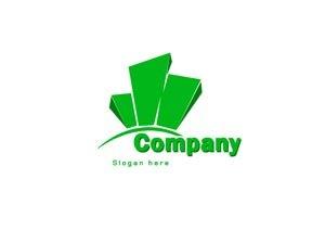 Green towers logo #1065