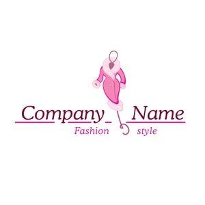 Pink fashion logo #1190