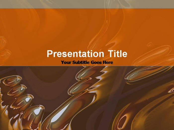 PowerPoint antique glass theme_006
