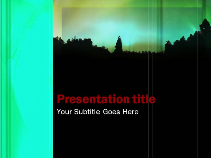PowerPoint Abstract theme _007
