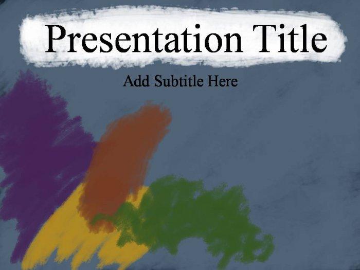 PowerPoint Artistic theme_200