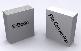 E-book file conversion