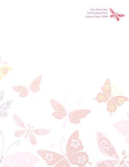 Butterfly Letterhead 001